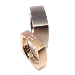 Eckige Ringe